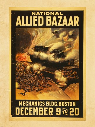 Framed National Allied Bazaar Print