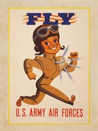 Fly U.S. Army Air Forces Art