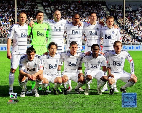 Framed Vancouver Whitecaps 2011 Team Photo Print