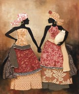 Village Women I  Fine Art Print