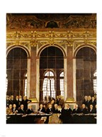 William Orpen - The Signing of Verailles Treaty Art