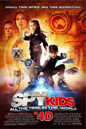 Framed Spy Kids 4: All the Time in the World Print