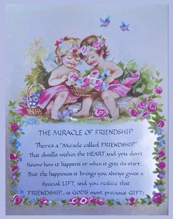 Framed Miracle of Friendship Print