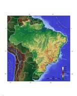 Brasilien Map