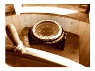 Classic Nautical Compass  Fine Art Print