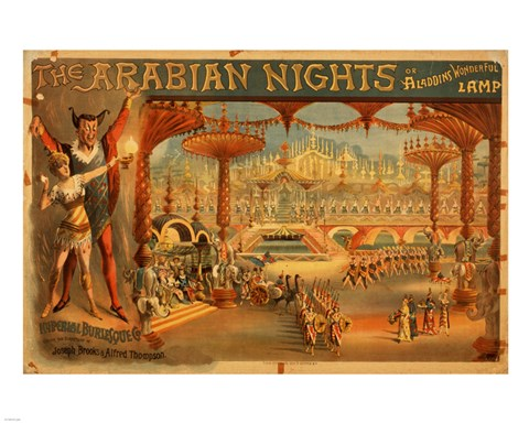 Framed Arabian Nights Print