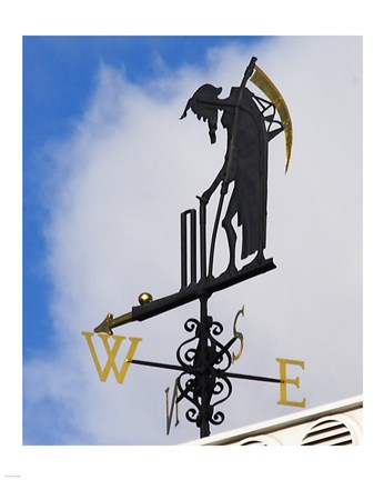 Framed Lord's Weathervane Print