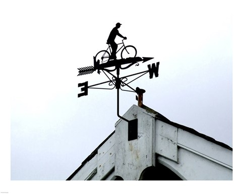 Framed Wesleyan Chapel Weathervane Print