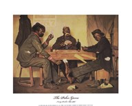 The Poker Game  Fine Art Print