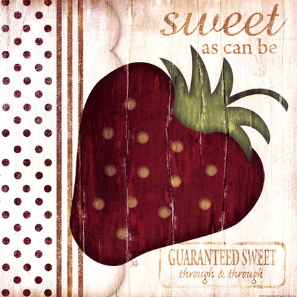 Framed Sweet As Can Be Print