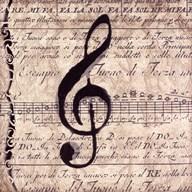 Musical II  Fine Art Print