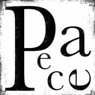 Peace - Letters  Fine Art Print