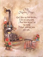 My Kitchen Prayer  Fine Art Print
