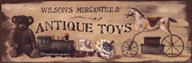 Antique Toys  Fine Art Print