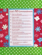 10 Commandments - Girls  Fine Art Print