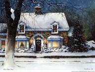 Snow Softly Falling  Fine Art Print