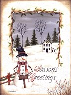 Season's Greetings Art
