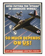 "We're Putting the ""Stings"" in America's Wings! Art"