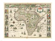 Africa 1635, Willem Janszoon Blaeu