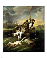 J.S. Copley - Watson and the Shark  Fine Art Print