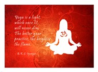 Yoga Quote  Fine Art Print