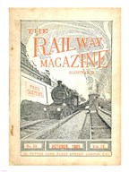 The Railway Magazine October 1901 Cover  Fine Art Print