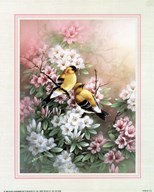 Yellow Finches Art