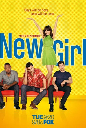 Framed New Girl Print