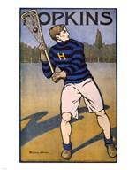 Hopkins Lacrosse  Fine Art Print