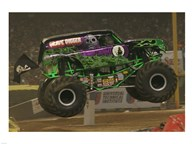 Grave Digger Monster Truck Art