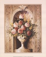 Assorted Roses in Urn
