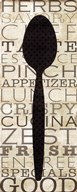 Kitchen Words II  Fine Art Print