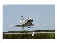 NASA Space Shuttle Atlantis Landing