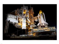 STS-135 Atlantis and payload canister on Launch Pad