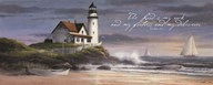 Lighthouse - Dusk  (verse)  Fine Art Print