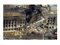 Pentagon Attack Aftermath September 2001 Washington, D.C. USA Art