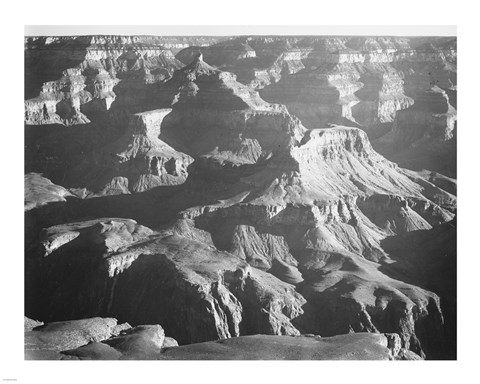 Framed Grand Canyon National Park - Arizona, 1933 - photograph Print