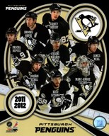 Pittsburgh Penguins 2011-12 Team Composite Art
