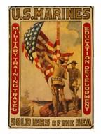U.S. Marines - Soldiers of the sea  Fine Art Print