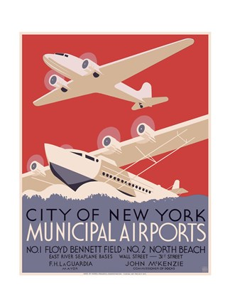New York City municipal airports, 1937