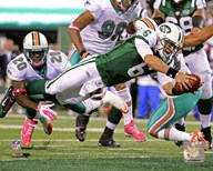 Mark Sanchez 2011 Action Art