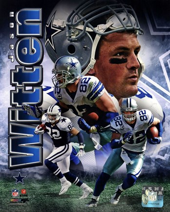 Framed Jason Witten 2011 Portrait Plus Print