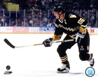 Mario Lemieux 1990 Action Art