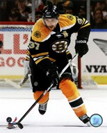 Patrice Bergeron 2011-12 Action Art