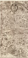 Plan de la Ville de Paris, 1715 Art