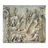 Altar of Mars and Venus - Aphrodite and Ares  Fine Art Print
