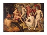 Frans Floris - The Judgment of Paris - Aphrodite  Fine Art Print