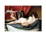 Venus At Her Mirror  Fine Art Print
