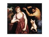 Venus, Mars and Cupid  Fine Art Print