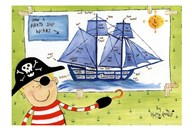 How a Pirate Ship Works Art